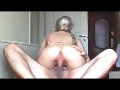 non-professional babe receives cunt and a-hole