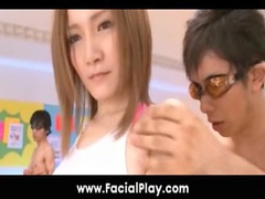 bukkake now - japanese teenies adore facial sperm