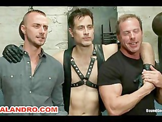 2 bdsm slaves bound and humiliation
