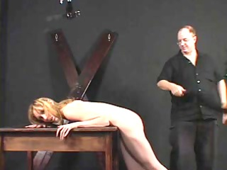 miniature mambos chick spanked and teased by her