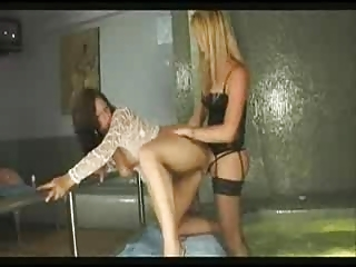 Tranny Denise fucks cute girl...F70