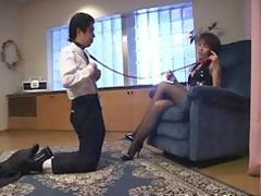 fierce chick boss turns workplace employee inside