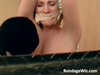 bondage fuck session with some blond part1