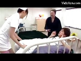 extremely impressive nurse obtaining her pussy