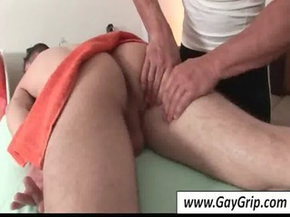 hot gay gets arse massaged