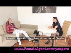 femaleagent. gorgoeus stud into mind blowing