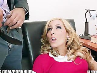 pretty blond amateur begs her teacher to teach
